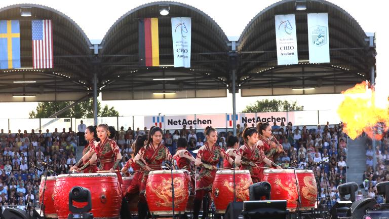 CHIO Aachen feierlich eröffnet